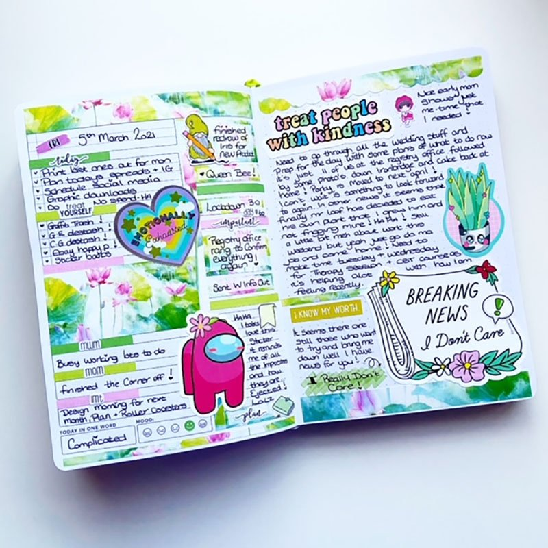 Passion Planner Ideas 1